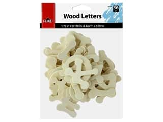 craft & hobbies: Plaid Wood Shape Letters Dot To Dot 36 pc