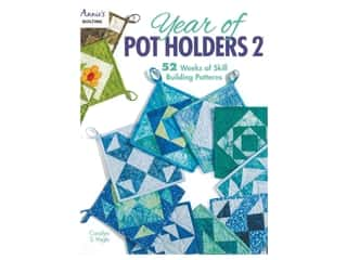 Annie's Year Of Pot Holders 2 Book