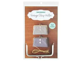 books & patterns: Zakka Workshop Kit Vintage Clasp Wallet