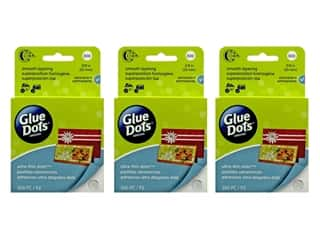 Glue Dots Craft 1/2 in. 200 pc. (3 pack)
