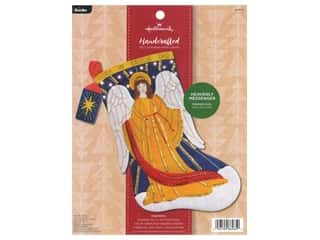 projects & kits: Bucilla Felt Kit Hallmark Heavenly Messenger Stocking