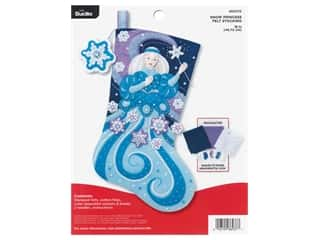 yarn & needlework: Bucilla Felt Kit Snow Princess Stocking
