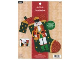 yarn & needlework: Bucilla Felt Kit Hallmark Classic Nutcracker Stocking