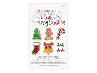 novelties: Kimberbell We Whisk You A Merry Christmas Buttons
