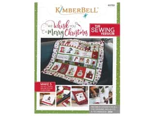projects & kits: Kimberbell Designs We Whisk You A Merry Christmas Sewing Book