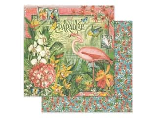 Graphic 45 Lost In Paradise Paper 12 in. x 12 in. (25 pieces)