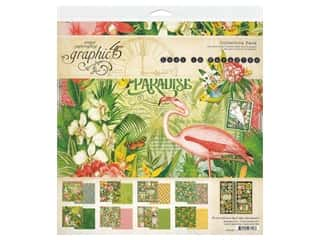 """scrapbooking & paper crafts: Graphic 45 Lost In Paradise Collection Pack 12""""x 12"""""""