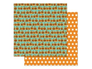 pumpkins: Simple Stories Collection Say Cheese Halloween Paper 12 in. x 12 in. Hey Pumpkin (25 pieces)