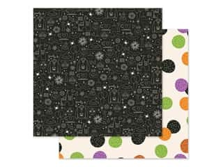 Simple Stories Collection Say Cheese Halloween Paper 12 in. x 12 in. Magical Night (25 pieces)