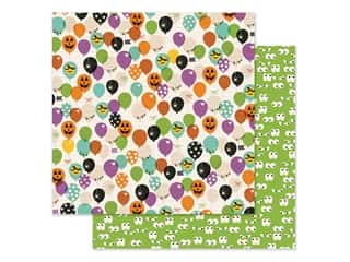 scrapbooking & paper crafts: Simple Stories Collection Say Cheese Halloween Paper 12 in. x 12 in. FaBOOlous (25 pieces)
