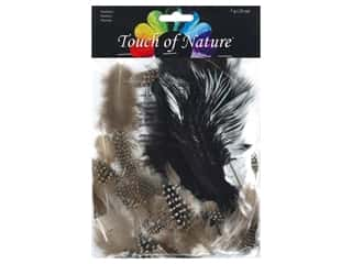 Midwest Design Feather 7 gm Assorted Black/White/Natural