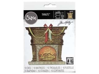 Sizzix Dies Tim Holtz Thinlits Fireside