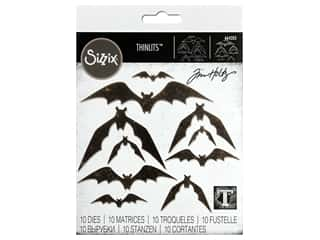 Sizzix Dies Tim Holtz Thinlits Bat Crazy