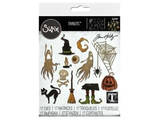 Sizzix Dies Tim Holtz Thinlits Frightful Things