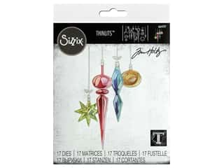 Sizzix Dies Tim Holtz Thinlits Hanging Ornaments