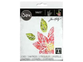 Sizzix Dies Tim Holtz Thinlits Poinsettia Pieces
