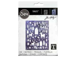 Sizzix Dies Tim Holtz Thinlits Nordic Winter