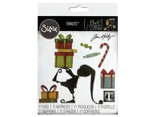 Sizzix Dies Tim Holtz Thinlits Santa's Helper