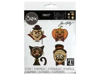 Sizzix Dies Tim Holtz Thinlits Hip Haunts