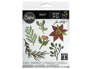 Sizzix Dies Tim Holtz Thinlits Large Funky Festive