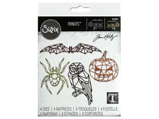 scrapbooking & paper crafts: Sizzix Dies Tim Holtz Thinlits Geo Halloween