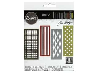 scrapbooking & paper crafts: Sizzix Dies Tim Holtz Thinlits Festive Repeat