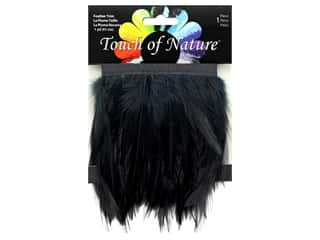 craft & hobbies: Midwest Design Feather Stitched Hackle 36 in. Black
