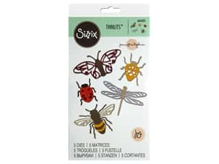 scrapbooking & paper crafts: Sizzix Jennifer Ogborn Thinlits Die Set 8 pc. Insects