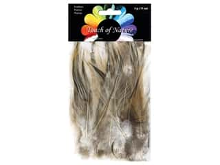 Midwest Design Feather Saddle Hackle Badger 3 gm