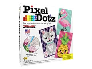 beading & jewelry making supplies: The Beadery Kit Pixel Dotz Pals