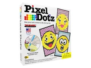beading & jewelry making supplies: The Beadery Kit Pixel Dotz Emoji