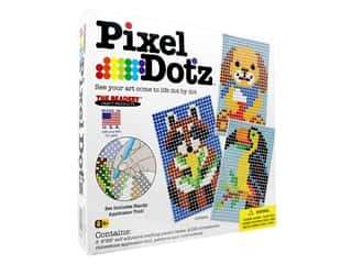 beading & jewelry making supplies: The Beadery Kit Pixel Dotz Critters