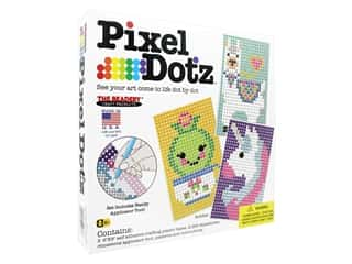 projects & kits: The Beadery Kit Pixel Dotz Buddies