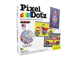 projects & kits: The Beadery Kit Pixel Dotz Speed Rush