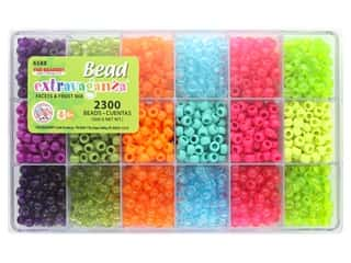 beading & jewelry making supplies: The Beadery Kit Bead Extravaganza Box Facets & Frost Mix