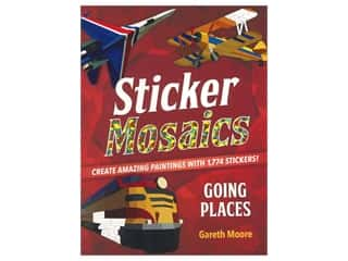 books & patterns: Castle Point Sticker Mosaics Going Places Book