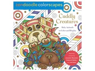 Castle Point Zendoodle Cuddly Creatures Color Book