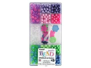 beading & jewelry making supplies: The Beadery Kit Bead Party Box Sparkle & Pearl