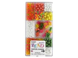 beading & jewelry making supplies: The Beadery Kit Bead Party Box Tropical Flowers