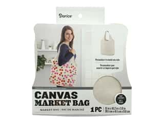 craft & hobbies: Darice Canvas Market Bag