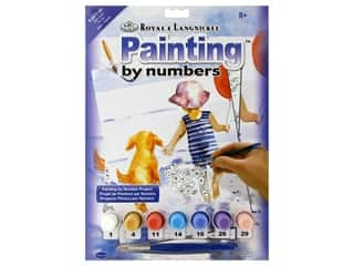 Small paint brush: Royal Paint By Number Junior Small Splish-Splash