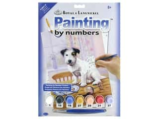 craft & hobbies: Royal Paint By Number Junior Small Hungry Hound