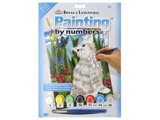 Royal Paint By Number Junior Small Kitten & Butterflies