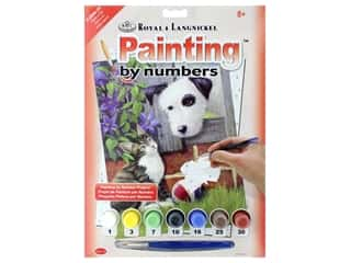 projects & kits: Royal Paint By Number Junior Small Friends At Play