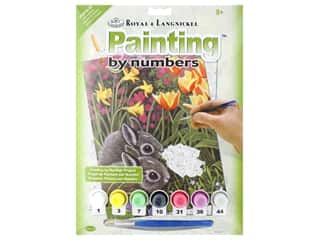 craft & hobbies: Royal Paint By Number Junior Small Spring Bunnies