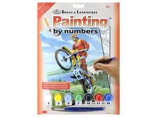 craft & hobbies: Royal Paint By Number Junior Small Motocross
