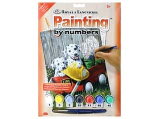 craft & hobbies: Royal Paint By Number Junior Small Fire Waggin