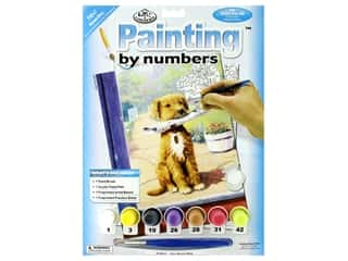 projects & kits: Royal Paint By Number Junior Small The News Boy