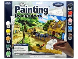 Royal Paint By Number Adult Large Steep Street