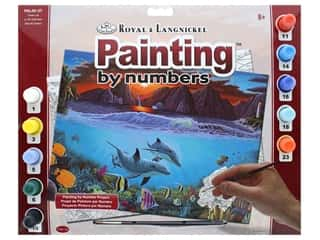 craft & hobbies: Royal Paint By Number Adult Large Ocean Life